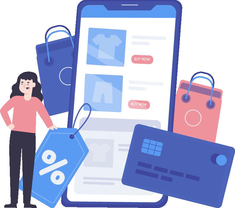 قرار دادن محصولات در سایت فروشگاهی