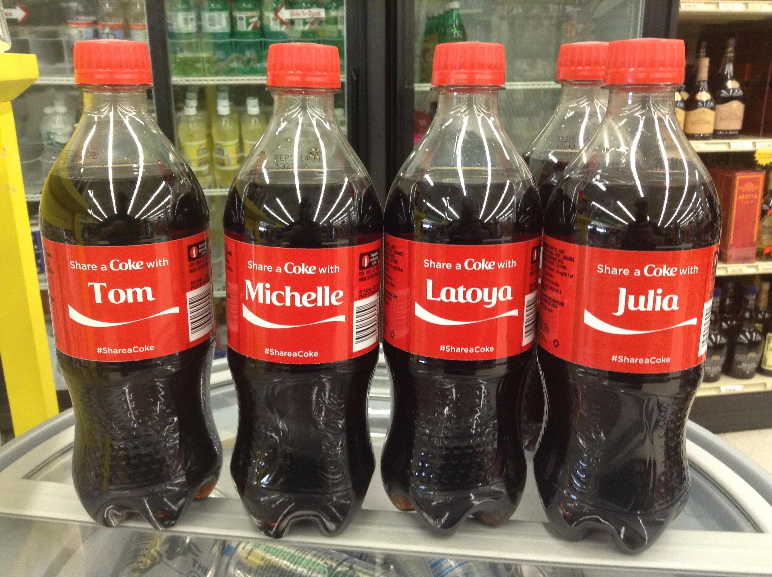 بازاریابی کوکاکولا برای جذب مشتری