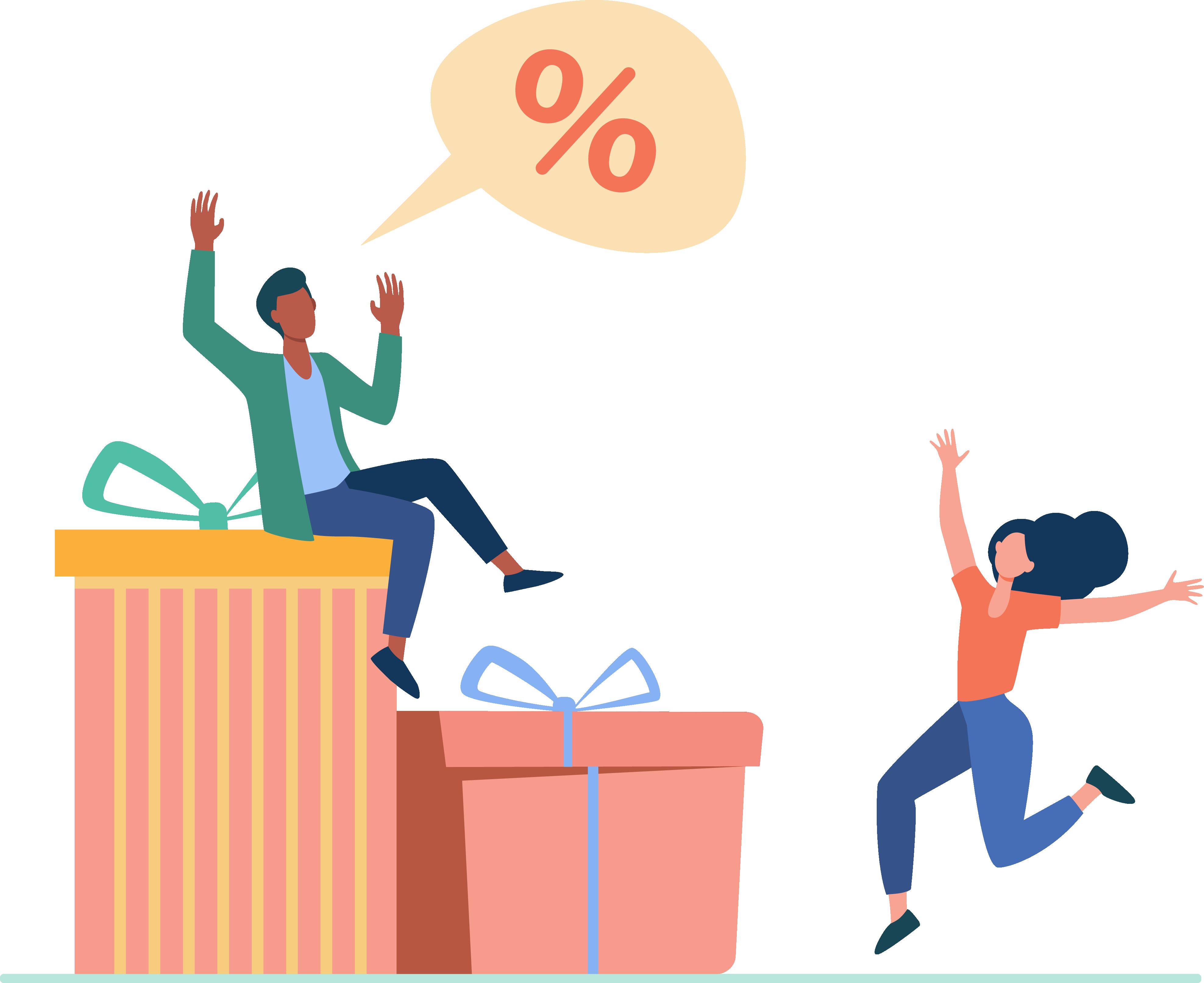 تاثیر هدیه دادن به خریداران در حفظ مشتری