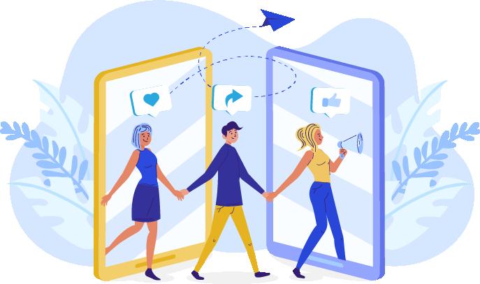 نقش شبکههای اجتماعی در بازاریابی دهان به دهان