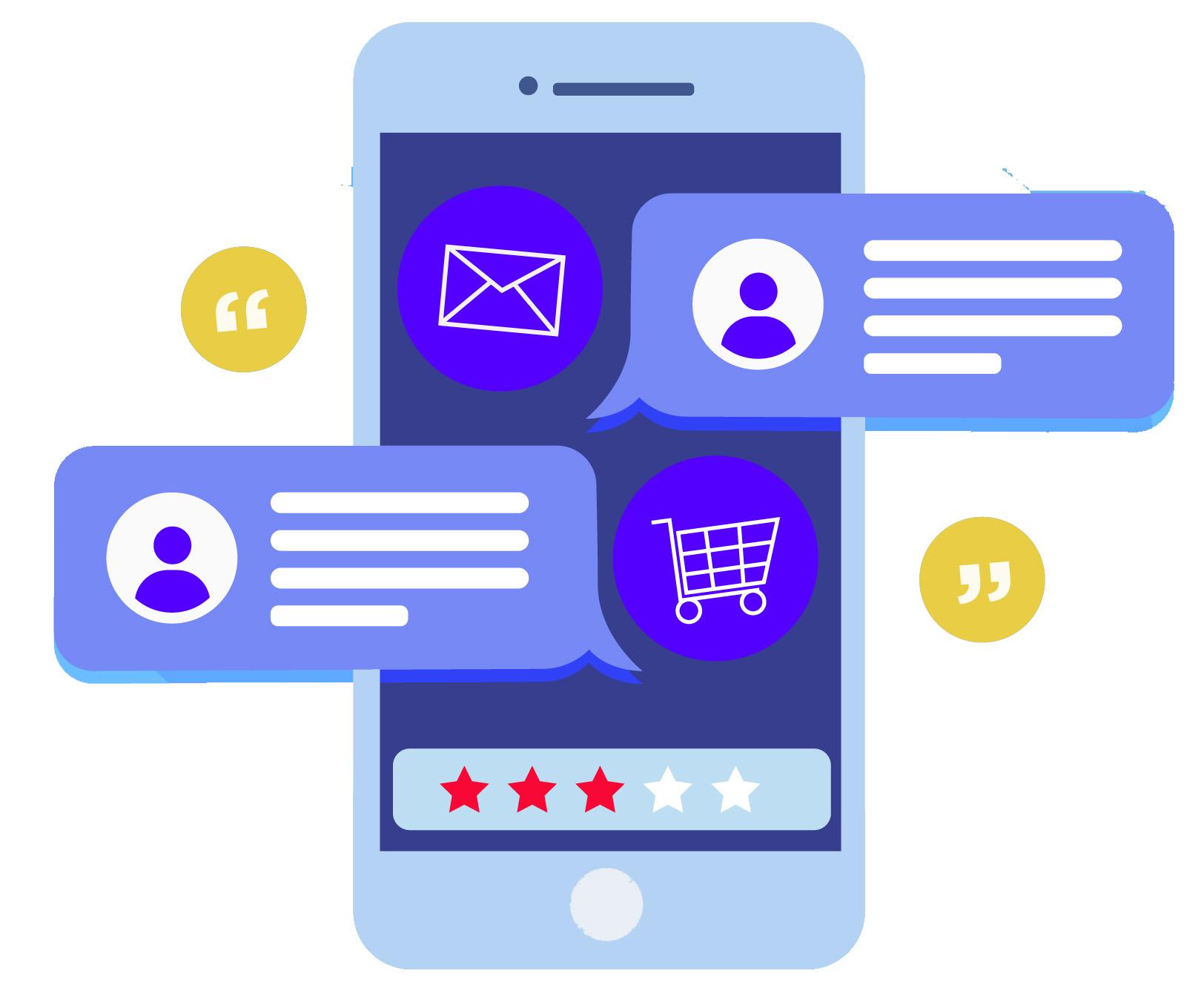 استفاده از نظرات آنلاین کاربران در افزایش فروش