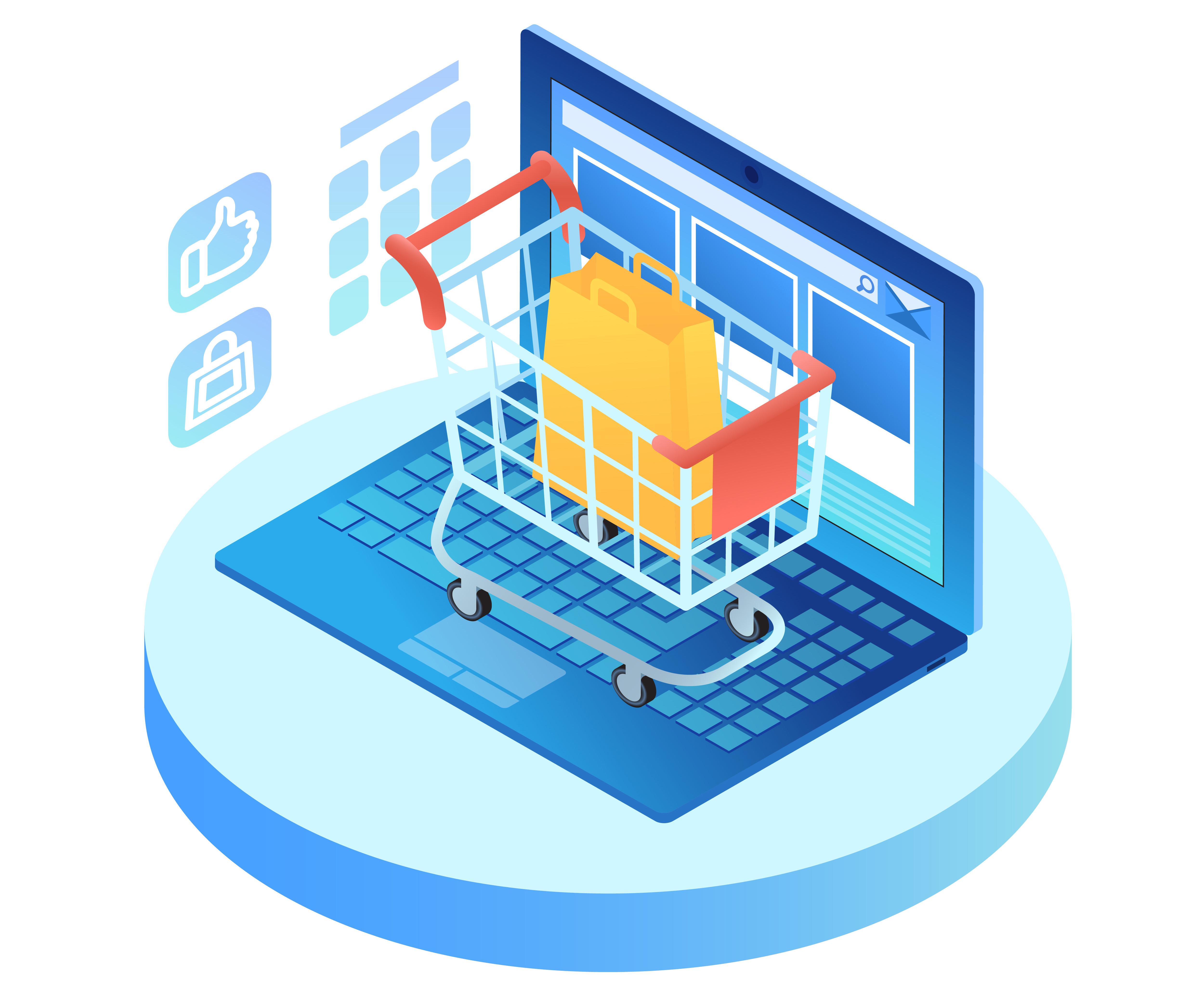 فروش محصول از طریق سایت